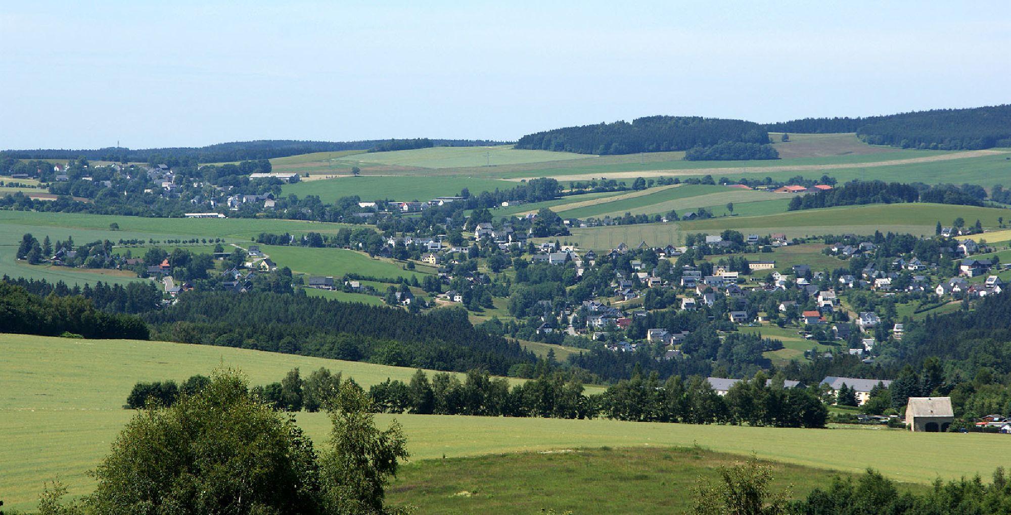 Ansprung - Stadtteil von Marienberg