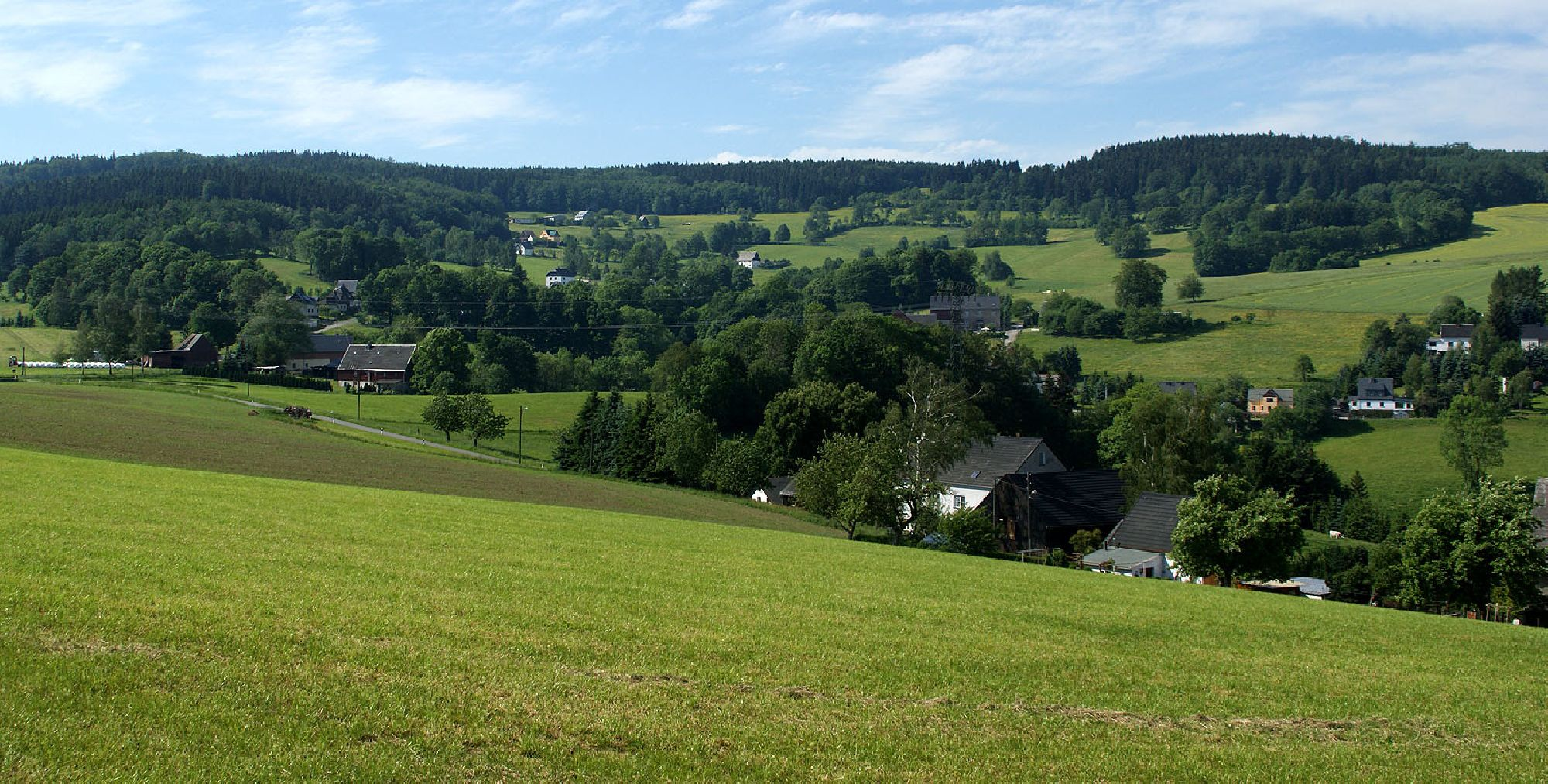 Ansprung im Erzgebirge - Ortsteil Sorgau
