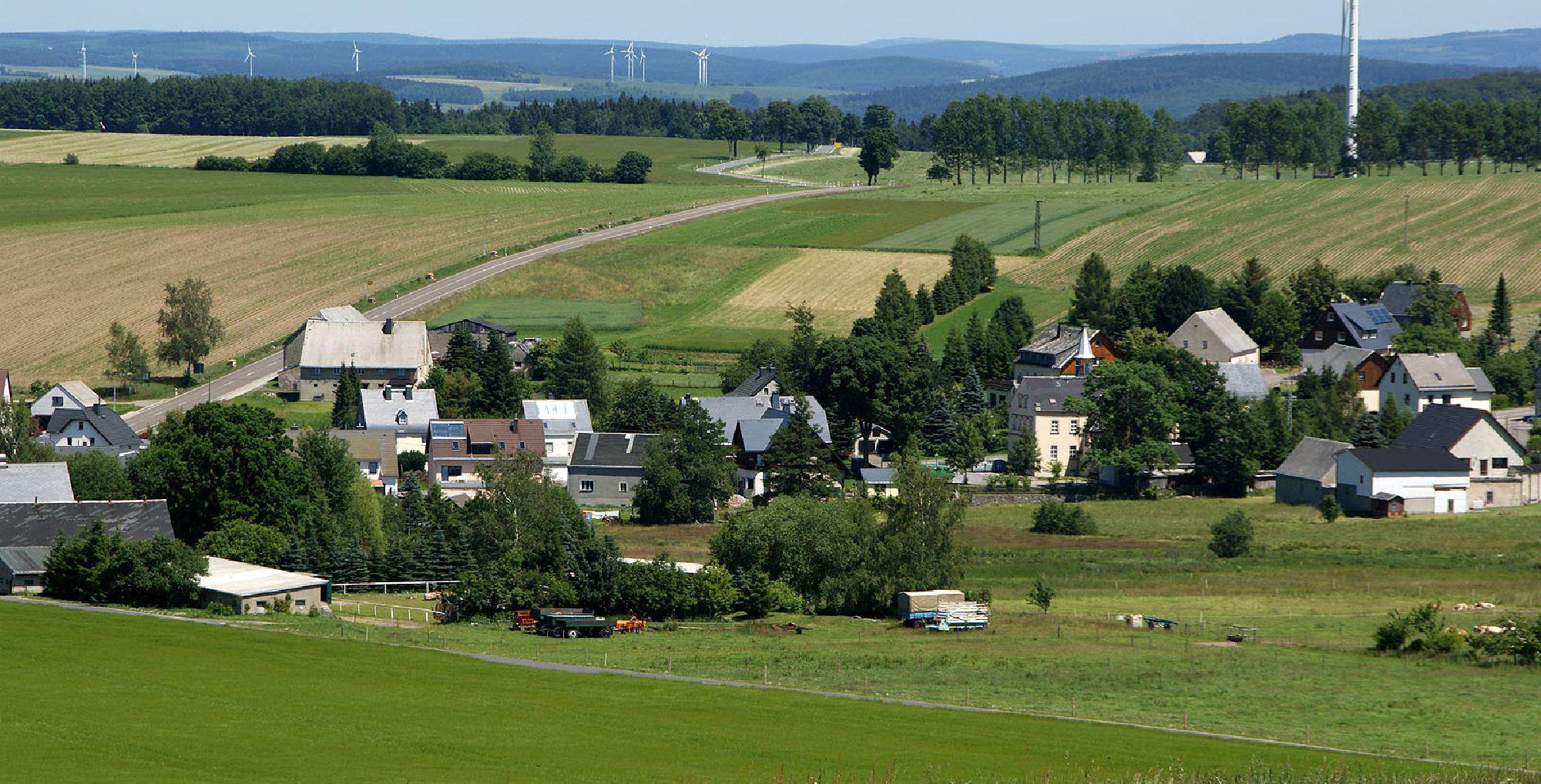 Marienberg - Ortsteil Ansprung