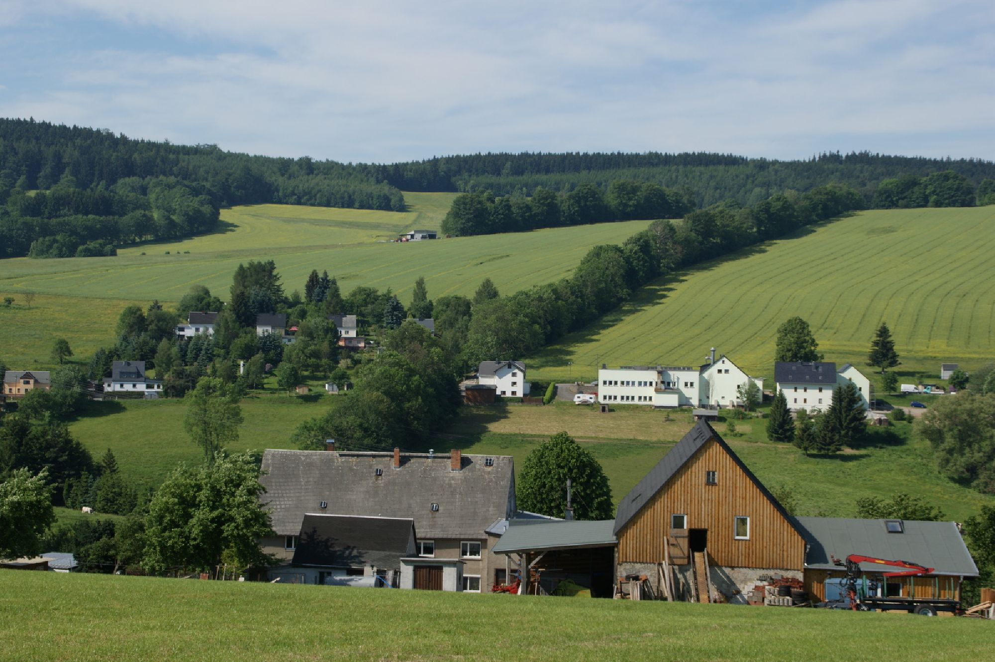 Blick über Sorgau