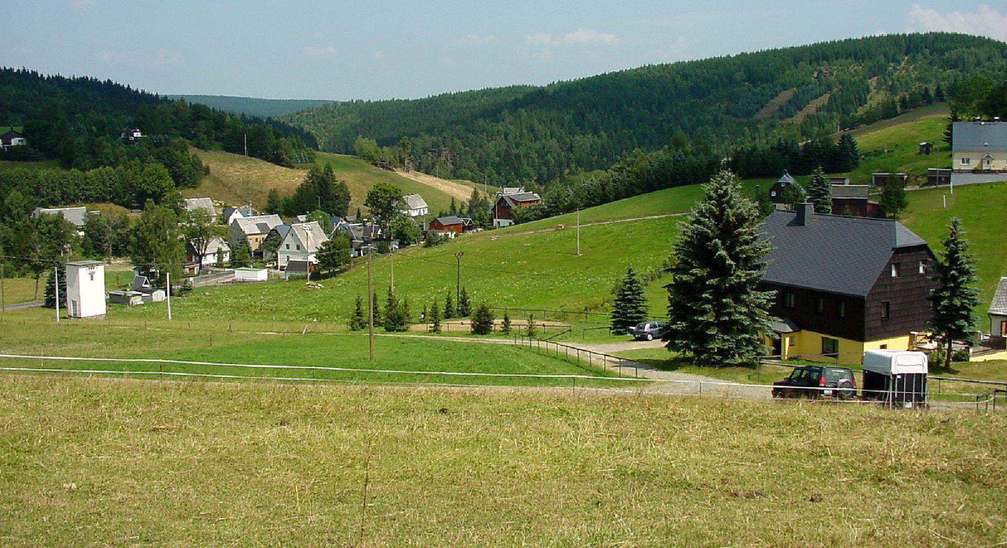 Marienberger Ortsteil Rübenau