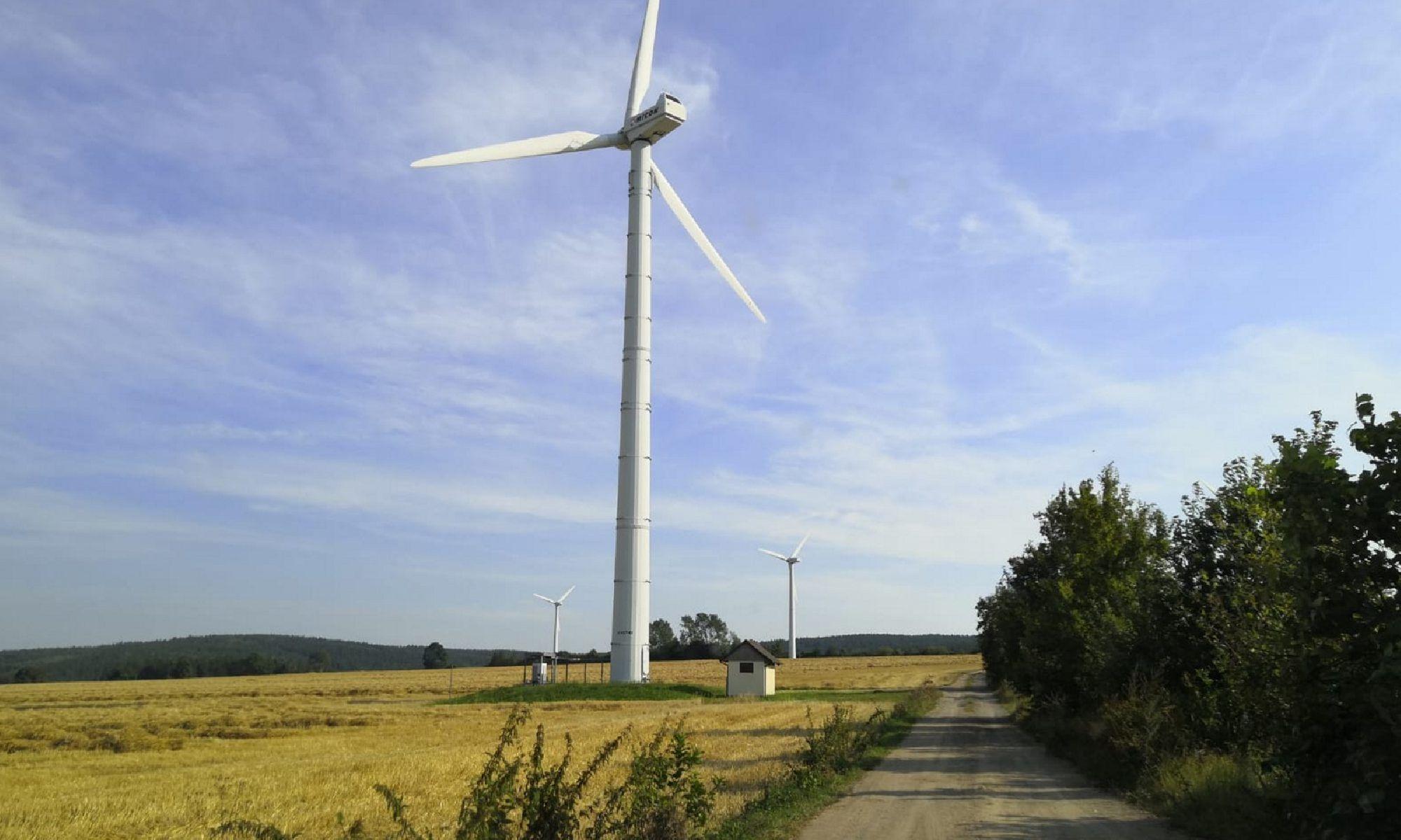 Windmühlen auf Ansprunger Höhe