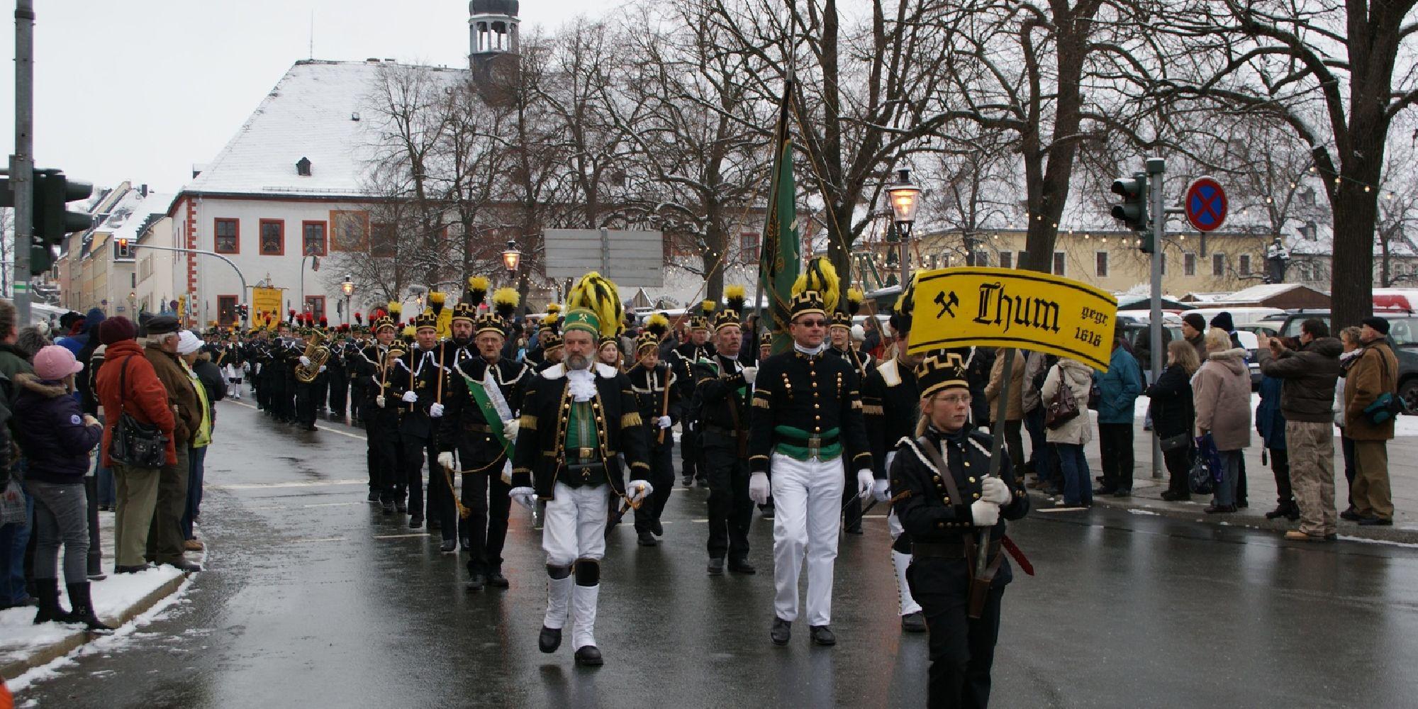 Große Bergparade in Marienberg