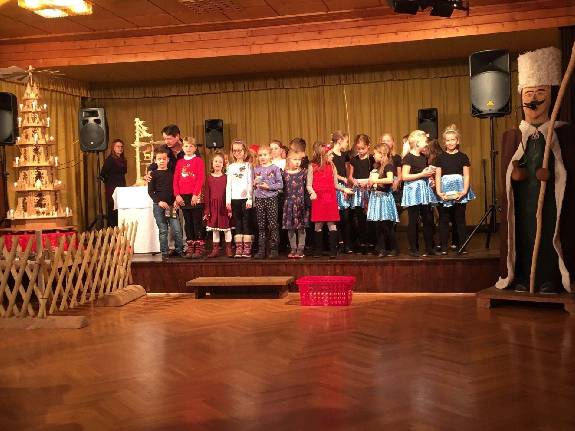 Auftritt der Grundschule Zöblitz