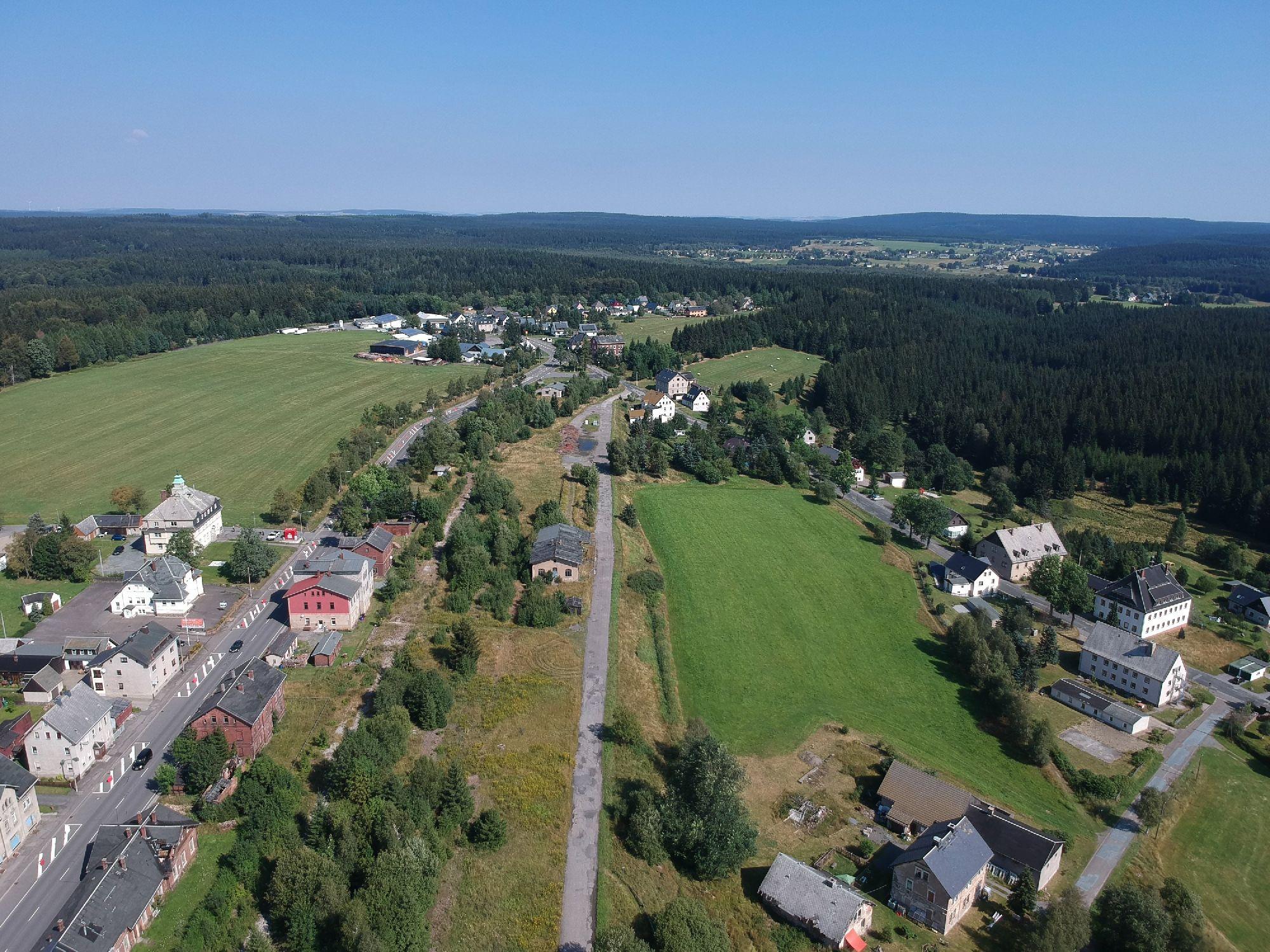 Blick über Reitzenhain